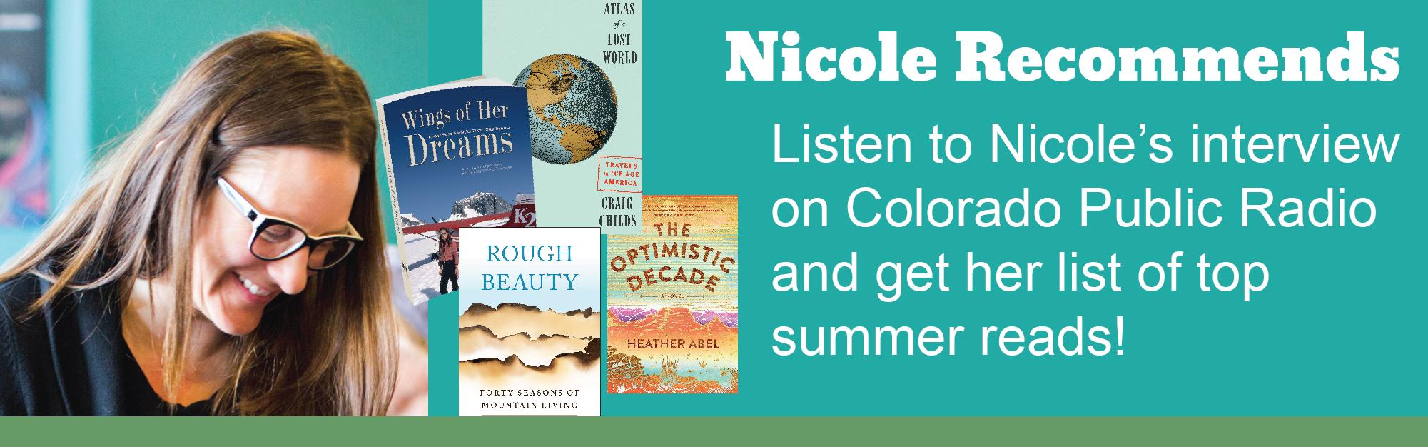 Listen to Nicole on Colorado Public Radio!