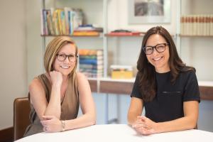 Alice Feagan and Nicole Magistro