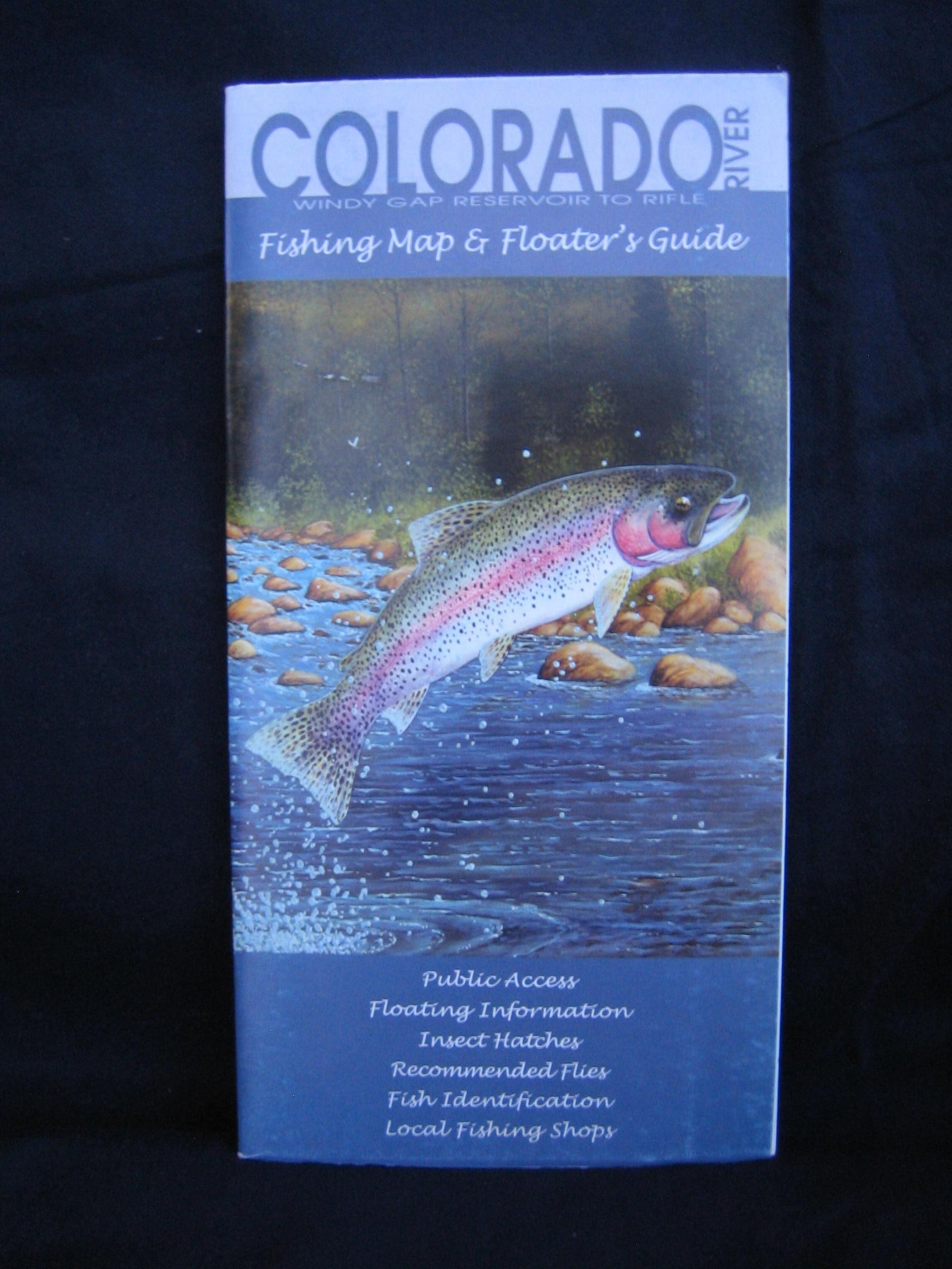 Colorado river fishing map and floater 39 s guide by michael for Colorado fishing guide